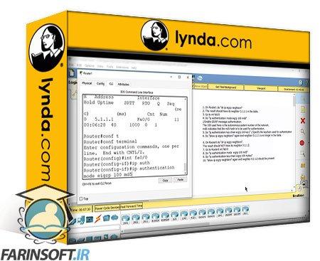 دانلود lynda Networks Security from Scratch to Advanced