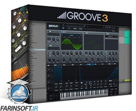 دانلود Groove3 Modern Synthetic Drum Sound Design Explained®