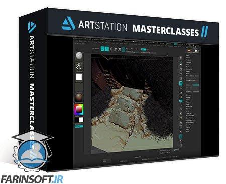 دانلود ArtStation Environment Sculpting for Games by Ivanna Liittschwager