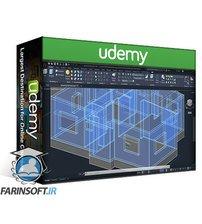 دانلود Udemy Autocad 2021 :- Professional 2D & 3D