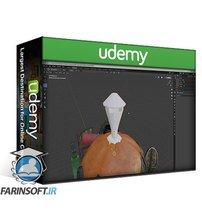 دانلود Udemy Blender 2.9 3D Model & Render a Stylized Halloween Scene