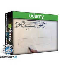 دانلود Udemy DESIGNER'S ESSENTIAL (How to sketch cars in any perspective)