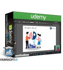 دانلود Udemy How to Design Awesome Header For Website In Illustrator