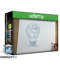 دانلود Udemy How to draw Cartoony Monsters