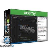 دانلود Udemy HTML 5 and CSS 3 for beginners plus one beautiful project