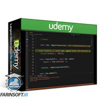 دانلود Udemy Javascript and mySQL 8.x Crash Course