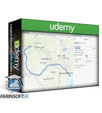 دانلود Udemy Making Maps and Map Series using ArcGIS Pro Layouts