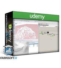 دانلود Udemy Pixelated Images with Image Sampler in Grasshopper for Rhino