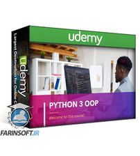 دانلود Udemy Python 3 OOP – Work Easily with Classes, Methods and Objects