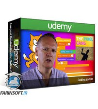 دانلود Udemy Scratch games coding for kids – Action game essentials