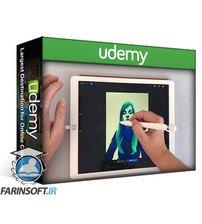دانلود Udemy Soft portraits with Procreate
