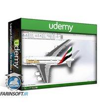 دانلود Udemy SOLIDWORKS: Airbus A380