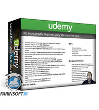 دانلود Udemy SQL Bootcamp for Beginners using Microsoft free tools