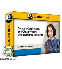 دانلود lynda Create a Quick, Clean, and Cheap Website with Bootstrap Templates