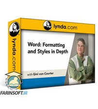 دانلود lynda Word: Formatting and Styles in Depth (365/2019)