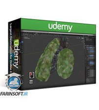 دانلود Udemy Blender 2.9 & Adobe Photoshop 3D Modeling a Hobbit Door