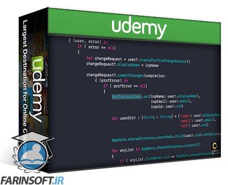 دانلود Udemy iOS with Swift & Firebase