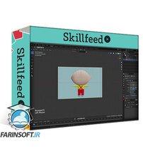 دانلود Skillshare Create A 3D TV Show Character With Blender