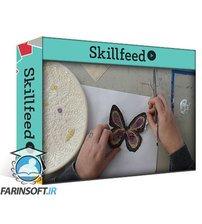 دانلود Skillshare Paper Butterflies for Mixed Media, Crafts, & Collage