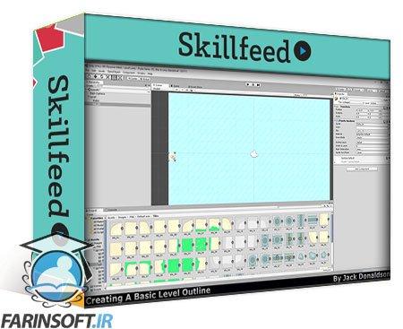 دانلود Skillshare Unity 2D Game Development Course