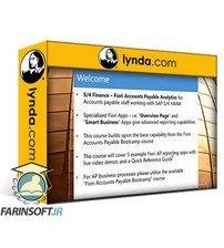 دانلود lynda S/4 Finance: Fiori Accounts Payable Analytics