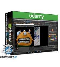 دانلود Udemy Creating a Cartoon Monster in Maya 2020