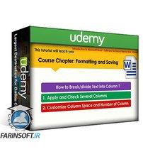 دانلود Udemy Introduction to Microsoft Word for Beginners to Intermediate