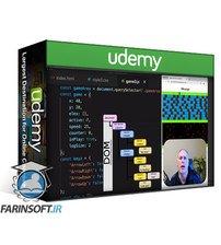 دانلود Udemy JavaScript DOM Projects InterActive Dynamic WebPages JS DOM