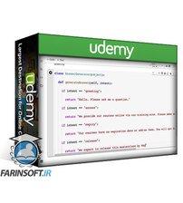 دانلود Udemy Python Chatbot Bootcamp w/ Pandas, NumPy and SciKit