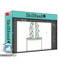 دانلود Skillshare Creating Simple Flat Vector Cactus Illustration in Adobe Illustrator