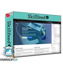 دانلود Skillshare Let's Code: Landing Page Website with Bootstrap 5