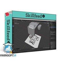 دانلود Skillshare Spaceship Concept Art with Affinity Photo and Blender 2.9