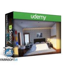 دانلود Udemy The Complete Sketchup & Vray Course for Interior Design