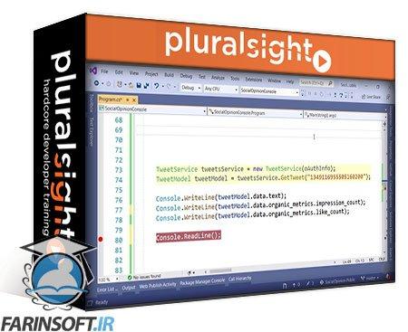 دانلود PluralSight Twitter API v2: First Look