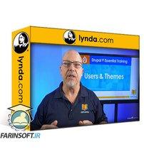 دانلود lynda Drupal 9 Essential Training: 4 Users and Themes