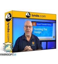 دانلود lynda Drupal 9 Essential Training: 6 Finishing the Design