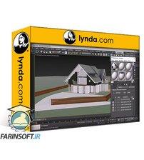 دانلود lynda 3ds Max and Twinmotion: Architectural Visualization