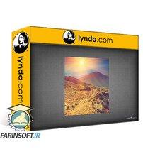 دانلود lynda Introduction to Graphic Design: Photoshop