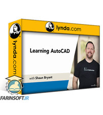 دانلود lynda Learning AutoCAD
