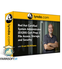 دانلود lynda Red Hat Certified System Administrator (EX200) Cert Prep: 2 File Access, Storage, and Security