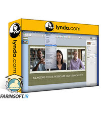 دانلود lynda Stepping Up Your Webcam Video Presence