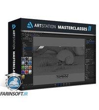 دانلود ArtStation 3D to 2D Workflow for Environment Design