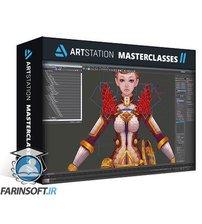 دانلود ArtStation Golden Knight 3D Hand-Painted Character For Games