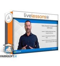 دانلود LiveLessons Data Analysis Fundamentals with Excel