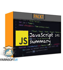 دانلود PacktPub Learn JavaScript from Scratch: JavaScript for Everyone