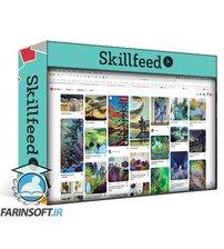 دانلود Skillshare Digital Abstract Stylized Landscape Painting in Procreate