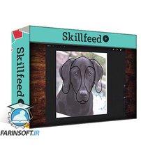 دانلود Skillshare iPad Artistry:Quirky Animal Portraits – with custom Procreate brushes