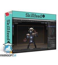 دانلود Skillshare Retro Robot Modeling from Concept in Blender 2.9 by Daniel Kim