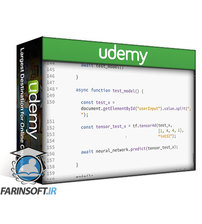 دانلود Udemy Deep Learning & Machine Learning Masterclass w/ TensorFlowJS