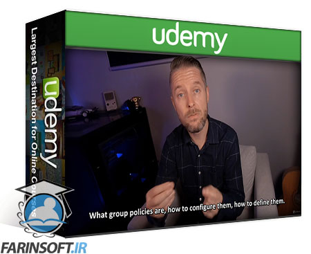 دانلود Udemy Learn Active Directory & Group Policies – Win Server 2019